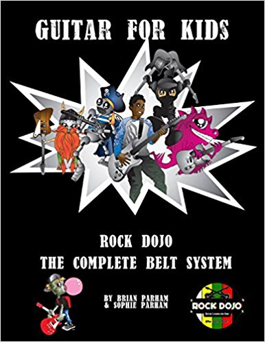 Rock Dojo_Guitar for Kids Rock Dojo The Complete Belt System