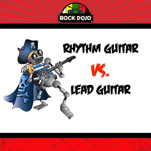 Rhythm Guitar vs. Lead Guitar