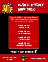 Rock_Dojo_Music Literacy_Game Pack