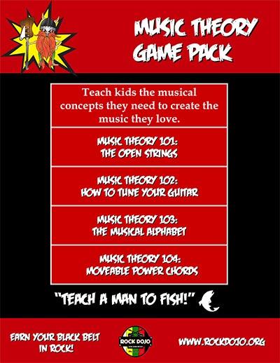 Rock_Dojo_Music Theory_Game Pack