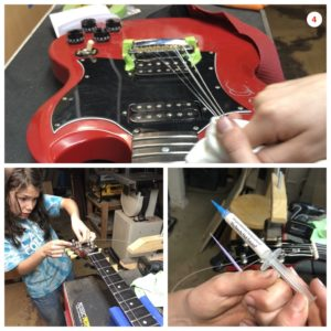 11-Year Old Changes His Guitar Strings Like a Pro!
