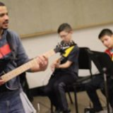 After-School Group Guitar Lessons At Capitol Hill Elementary School