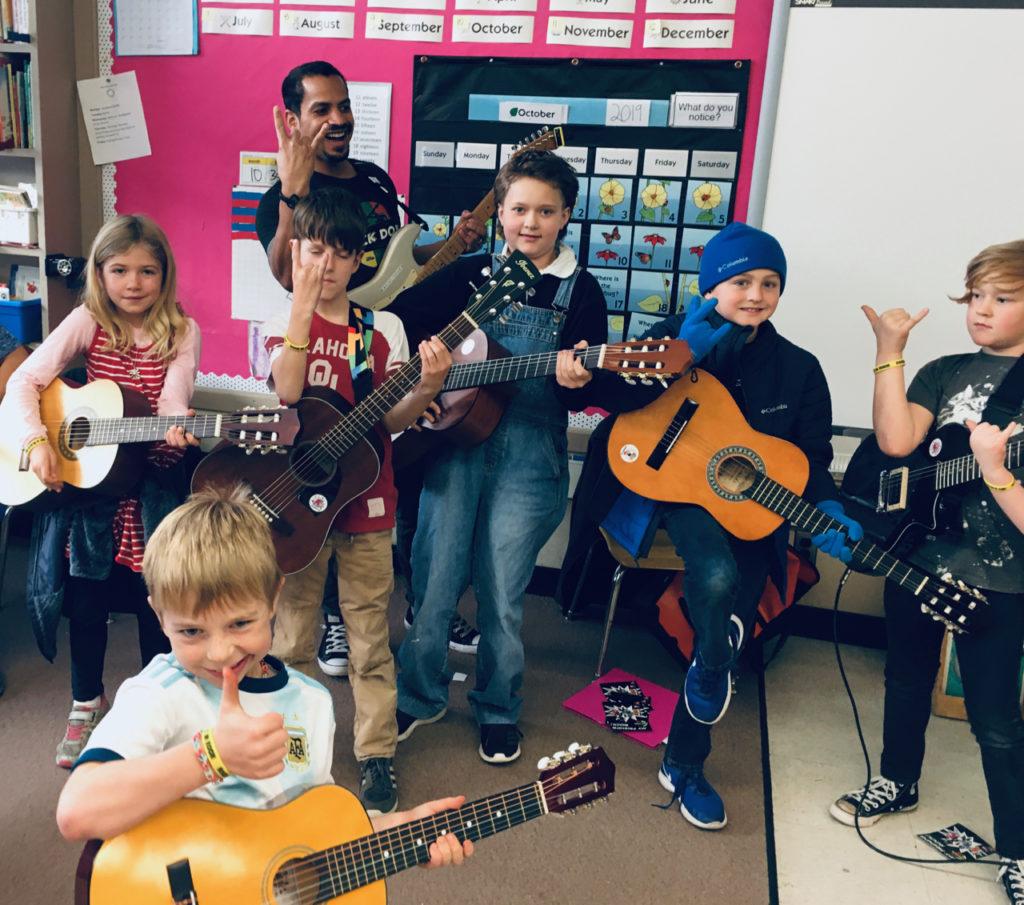 Rock Dojo Guitar Lessons for Kids
