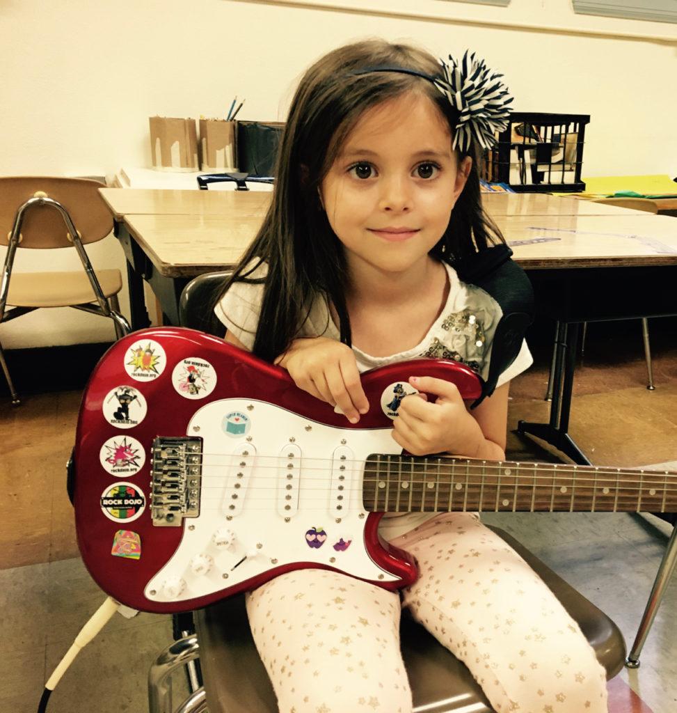 Rock Dojo Guitar Student