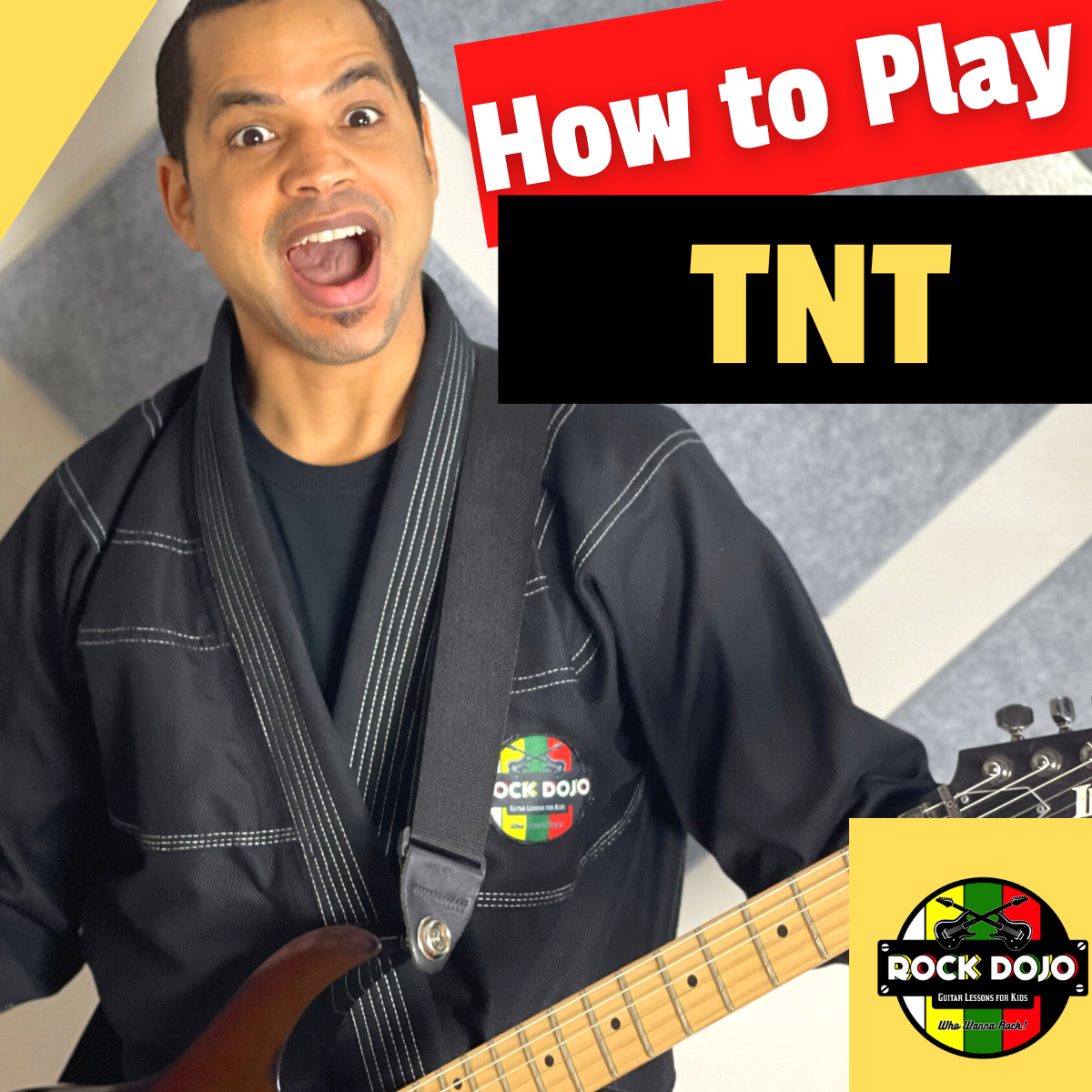 How to Play TNT on Guitar