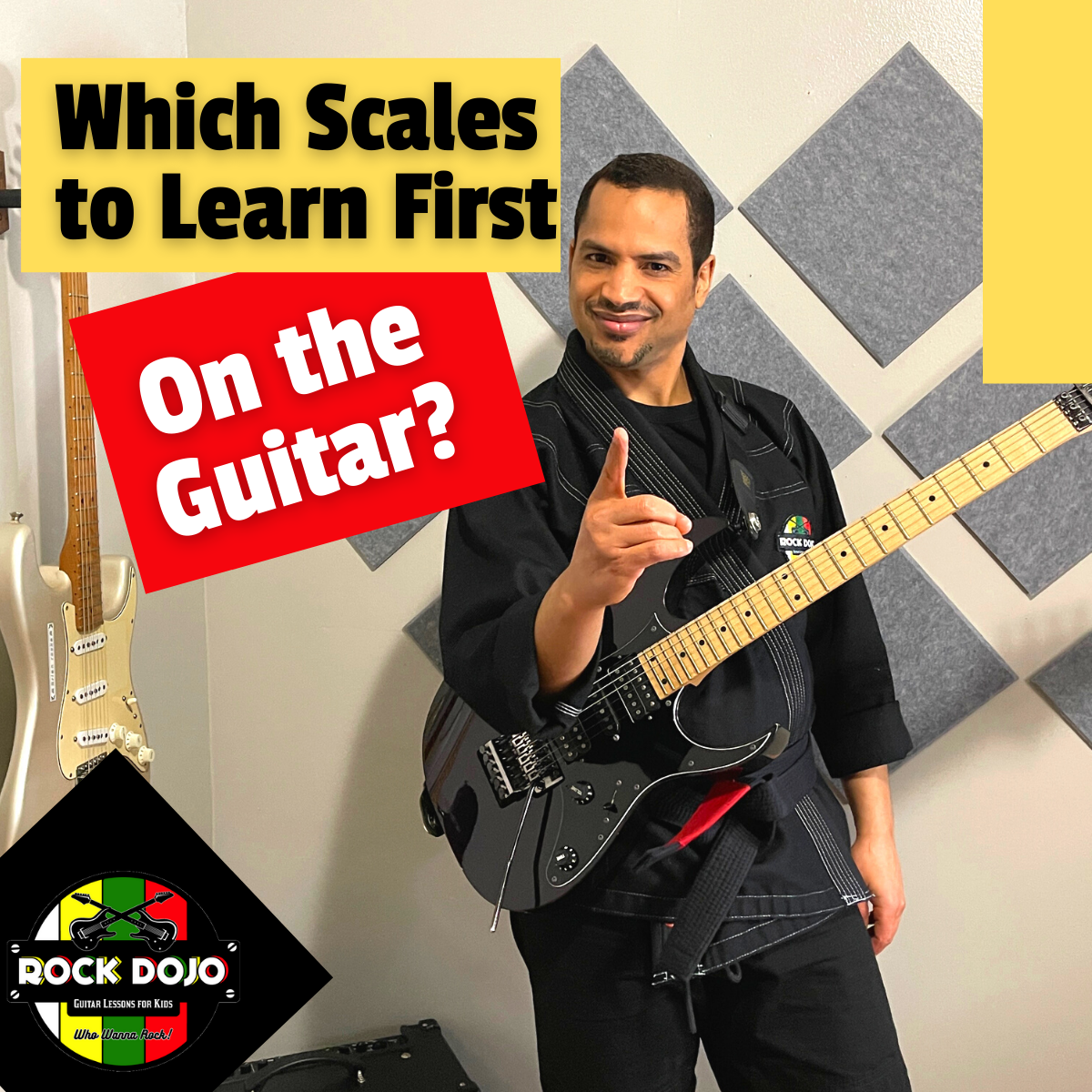 Which Scales to Learn First on the Guitar?